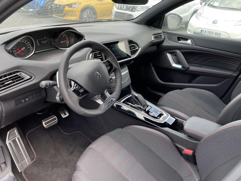 Peugeot 308 1.5 BLUEHDI 130CH S&S GT EAT8 Gris occasion à Mées - photo n°9
