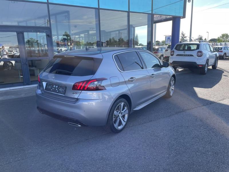 Peugeot 308 1.5 BLUEHDI 130CH S&S GT EAT8 Gris occasion à Campsas - photo n°5