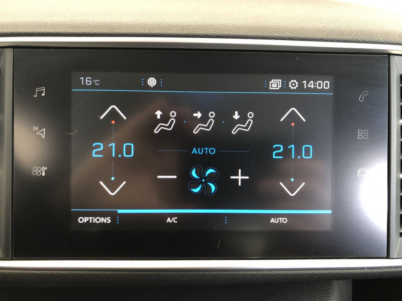 Peugeot 308 1.5 BLUEHDI 130CH S&S TECH EDITION EAT8 7CV Gris occasion à FENOUILLET - photo n°8