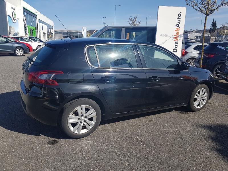 Peugeot 308 1.6 BlueHDi 100ch S&S Active Noir occasion à Onet-le-Château - photo n°2
