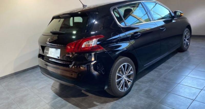 Peugeot 308 1.6 BlueHDi 120CH ALLURE Noir occasion à COURNON D'AUVERGNE - photo n°3