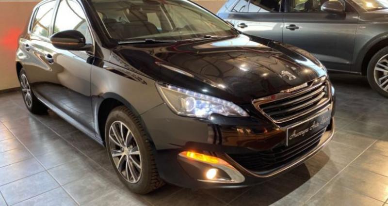 Peugeot 308 1.6 BlueHDi 120CH ALLURE Noir occasion à COURNON D'AUVERGNE - photo n°2