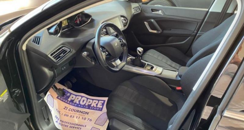 Peugeot 308 1.6 BlueHDi 120CH ALLURE Noir occasion à COURNON D'AUVERGNE - photo n°7