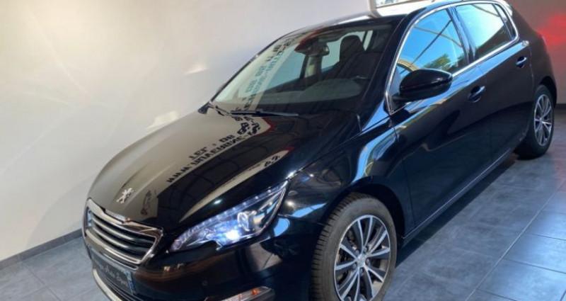 Peugeot 308 1.6 BlueHDi 120CH ALLURE Noir occasion à COURNON D'AUVERGNE