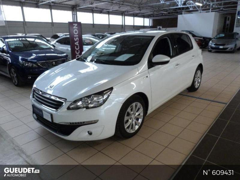 Peugeot 308 1.6 BlueHDi 120ch Style S&S 5p Blanc occasion à Meaux