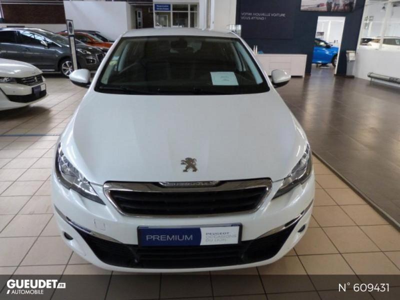 Peugeot 308 1.6 BlueHDi 120ch Style S&S 5p Blanc occasion à Meaux - photo n°3