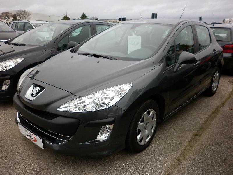 Peugeot 308 1.6 HDI 110 FAP CONFORT PACK Gris occasion à Quimper