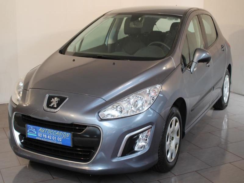 Peugeot 308 1.6 HDI 92 ACCESS Gris occasion à Brest