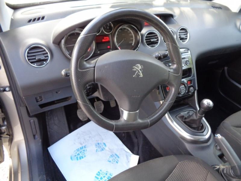 Peugeot 308 1.6 HDI92 FAP STYLE III 5P Gris occasion à Aucamville - photo n°9