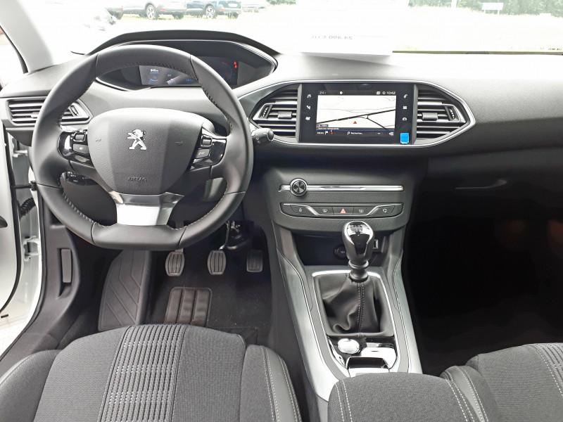 Peugeot 308 308 BlueHDi 130ch S&S BVM6 Allure Pack 5p Blanc occasion à Saint-Pierre-du-Mont - photo n°12