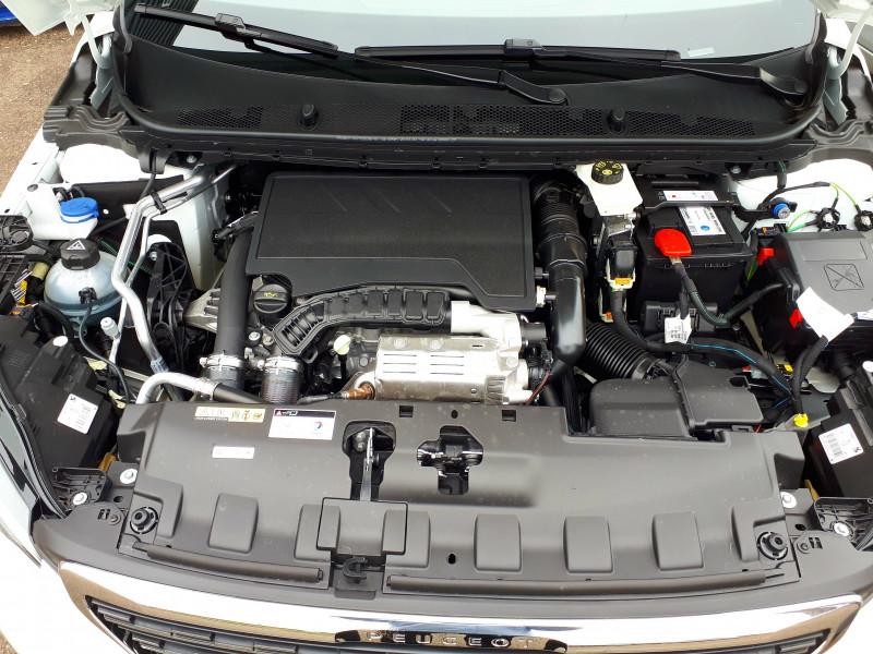Peugeot 308 308 BlueHDi 130ch S&S BVM6 Allure Pack 5p Blanc occasion à Saint-Pierre-du-Mont - photo n°10
