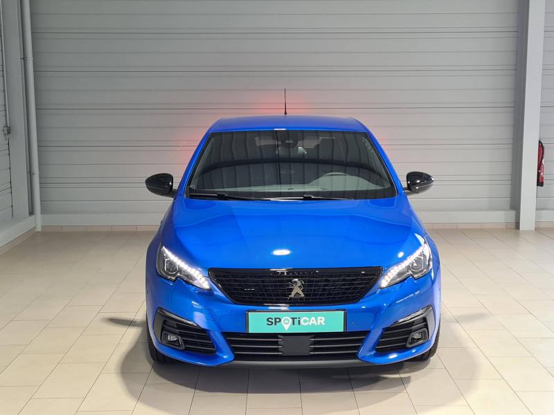 Peugeot 308 308 BlueHDi 130ch S&S EAT8 GT Pack 5p Bleu occasion à Saint-Pierre-du-Mont