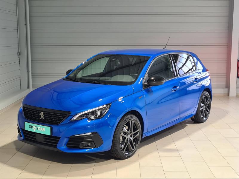 Peugeot 308 308 BlueHDi 130ch S&S EAT8 GT Pack 5p Bleu occasion à Saint-Pierre-du-Mont - photo n°2