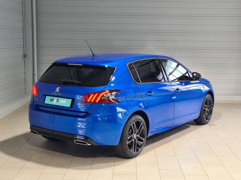 Peugeot 308 308 BlueHDi 130ch S&S EAT8 GT Pack 5p Bleu occasion à Saint-Pierre-du-Mont - photo n°5