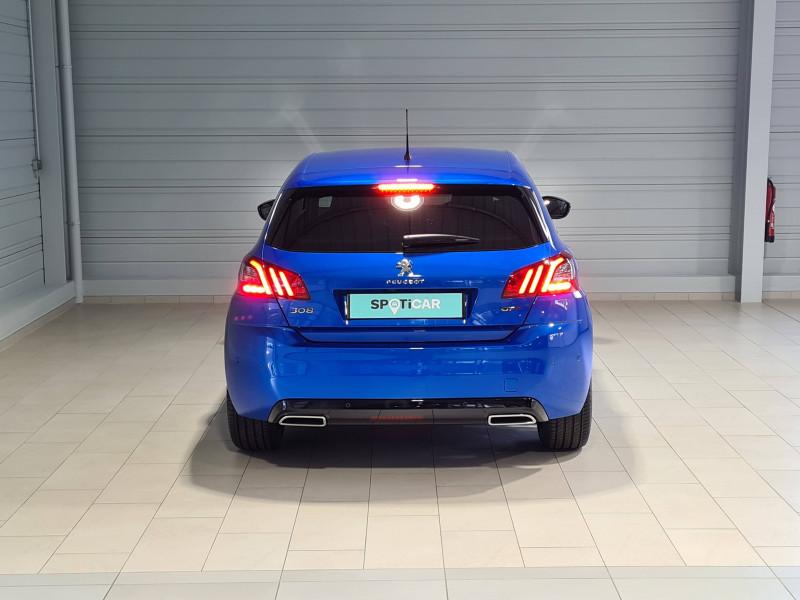 Peugeot 308 308 BlueHDi 130ch S&S EAT8 GT Pack 5p Bleu occasion à Saint-Pierre-du-Mont - photo n°4