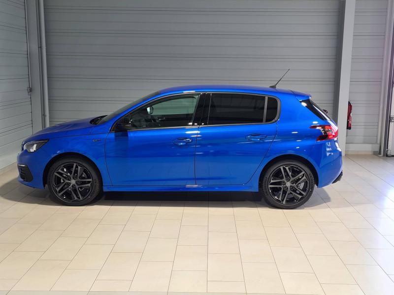 Peugeot 308 308 BlueHDi 130ch S&S EAT8 GT Pack 5p Bleu occasion à Saint-Pierre-du-Mont - photo n°3