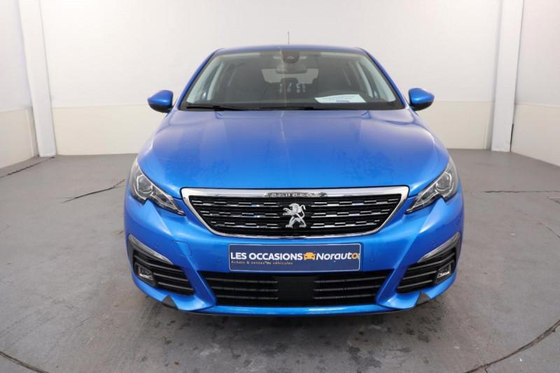 Peugeot 308 BlueHDi 130ch S&S EAT8 Allure Pack Bleu occasion à Toulouse - photo n°2