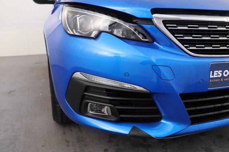 Peugeot 308 BlueHDi 130ch S&S EAT8 Allure Pack Bleu occasion à Toulouse - photo n°8