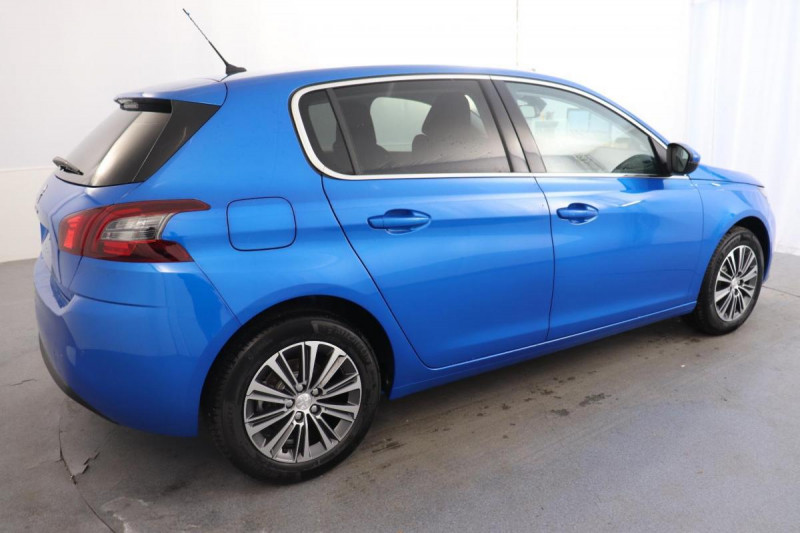 Peugeot 308 BlueHDi 130ch S&S EAT8 Allure Pack Bleu occasion à Toulouse - photo n°3