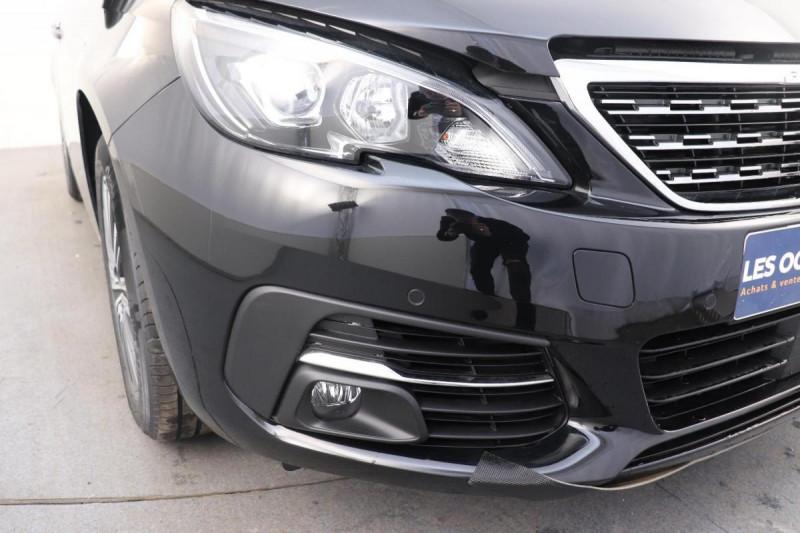 Peugeot 308 BlueHDi 130ch S&S EAT8 Allure Noir occasion à Seclin - photo n°8