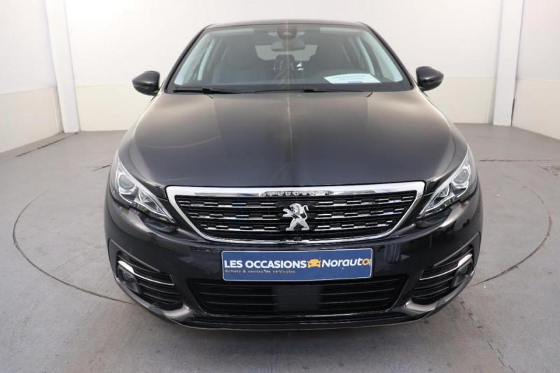 Peugeot 308 BlueHDi 130ch S&S EAT8 Allure Noir occasion à Seclin - photo n°2