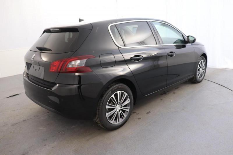 Peugeot 308 BlueHDi 130ch S&S EAT8 Allure Noir occasion à Seclin - photo n°3