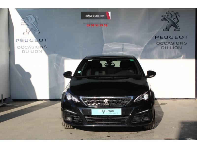 Peugeot 308 BlueHDi 130ch S&S EAT8 GT Line Noir occasion à Saint-Pierre-du-Mont - photo n°2