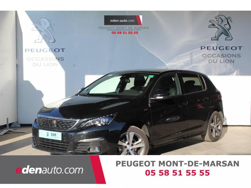 Peugeot 308 BlueHDi 130ch S&S EAT8 GT Line Noir occasion à Saint Pierre du Mont