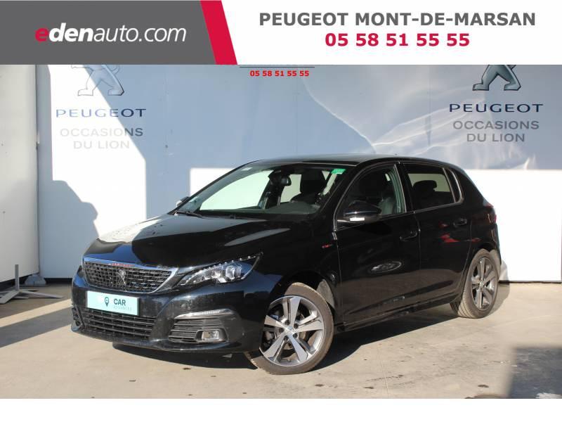 Peugeot 308 BlueHDi 130ch S&S EAT8 GT Line Noir occasion à Saint-Pierre-du-Mont