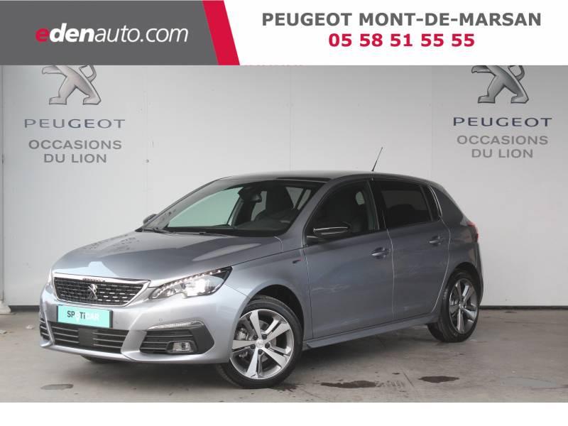 Peugeot 308 BlueHDi 130ch S&S EAT8 GT Gris occasion à Saint-Pierre-du-Mont