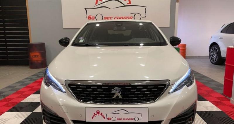 Peugeot 308 gt line 1.2 thp 130cv Blanc occasion à Bastia