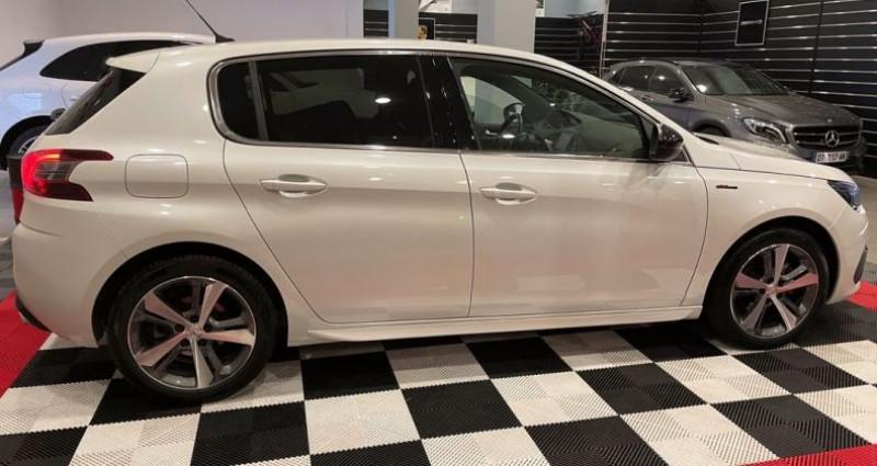 Peugeot 308 gt line 1.2 thp 130cv Blanc occasion à Bastia - photo n°2