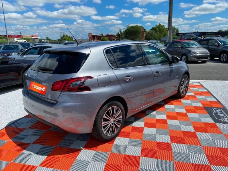 Peugeot 308 New BlueHDi 130 BV6 ROADTRIP Full Leds GPS Caméra Gris occasion à Lescure-d'Albigeois - photo n°2