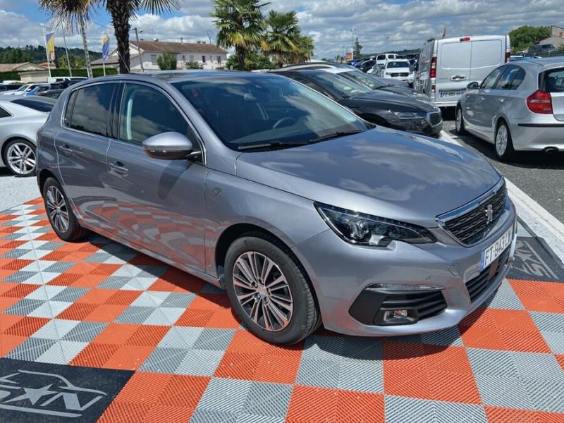 Peugeot 308 New BlueHDi 130 BV6 ROADTRIP Full Leds GPS Caméra Gris occasion à Lescure-d'Albigeois - photo n°10