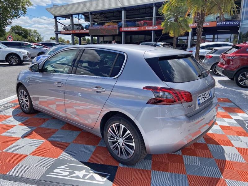 Peugeot 308 New BlueHDi 130 BV6 ROADTRIP Full Leds GPS Caméra Gris occasion à Lescure-d'Albigeois - photo n°5
