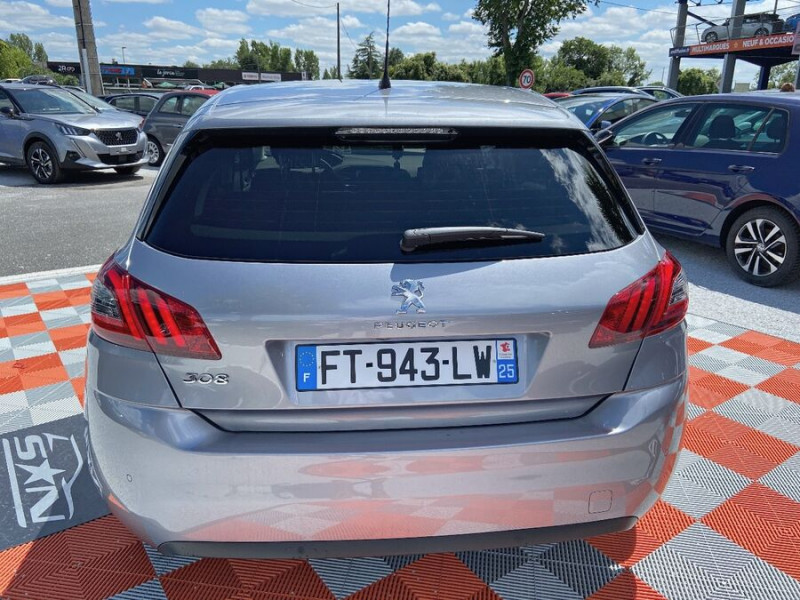Peugeot 308 New BlueHDi 130 BV6 ROADTRIP Full Leds GPS Caméra Gris occasion à Lescure-d'Albigeois - photo n°6