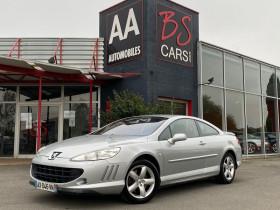 Peugeot 407 Coupe Gris, garage BS CARS.COM à Castelmaurou