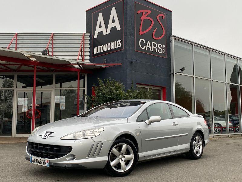 Peugeot 407 Coupe occasion 2006 mise en vente à Castelmaurou par le garage BS CARS.COM - photo n°1