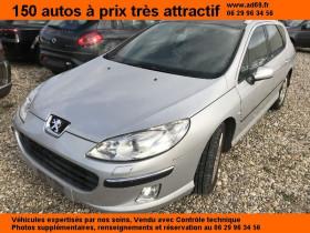 Peugeot 407 SW Gris, garage VOITURE PAS CHERE RHONE ALPES à Saint-Bonnet-de-Mure