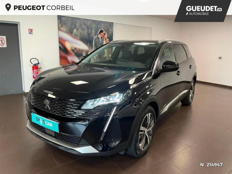 Peugeot 5008 1.5 BlueHDi 130ch S&S Allure Noir occasion à Corbeil-Essonnes