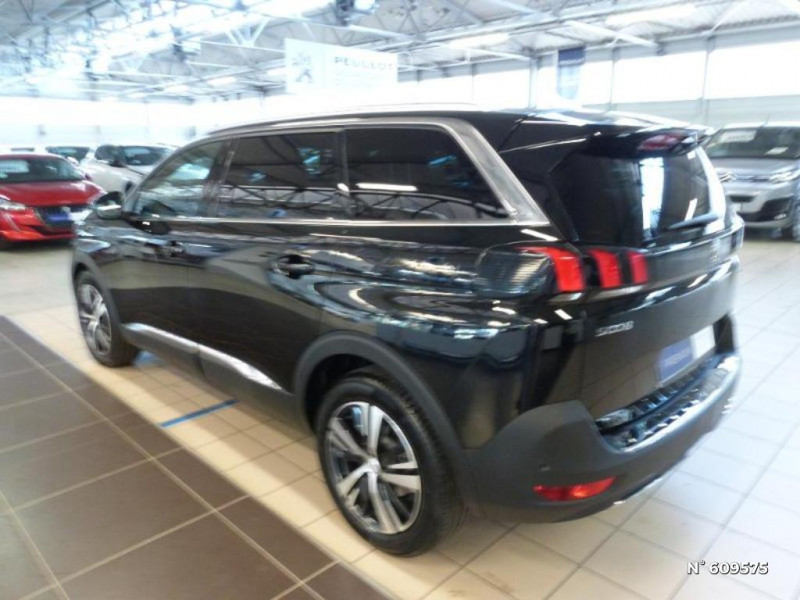 Peugeot 5008 1.5 BlueHDi 130ch S&S GT Line EAT8 Noir occasion à Meaux - photo n°11