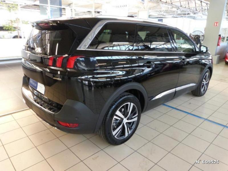 Peugeot 5008 1.5 BlueHDi 130ch S&S GT Line EAT8 Noir occasion à Meaux - photo n°5