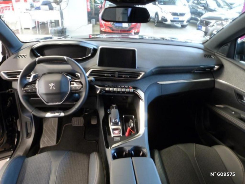 Peugeot 5008 1.5 BlueHDi 130ch S&S GT Line EAT8 Noir occasion à Meaux - photo n°8