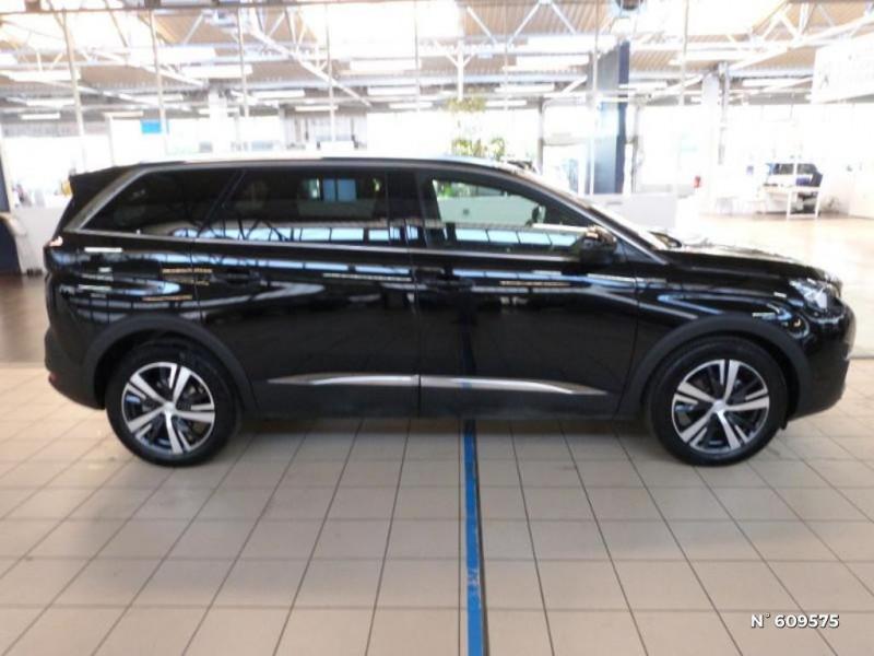 Peugeot 5008 1.5 BlueHDi 130ch S&S GT Line EAT8 Noir occasion à Meaux - photo n°4