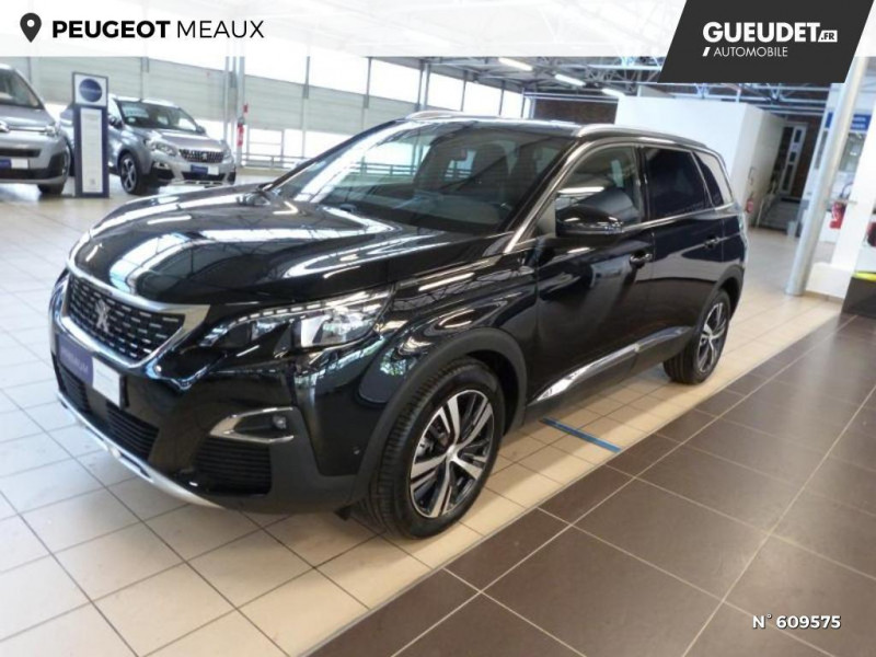 Peugeot 5008 1.5 BlueHDi 130ch S&S GT Line EAT8 Noir occasion à Meaux