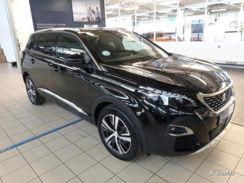 Peugeot 5008 1.5 BlueHDi 130ch S&S GT Line EAT8 Noir occasion à Meaux - photo n°2