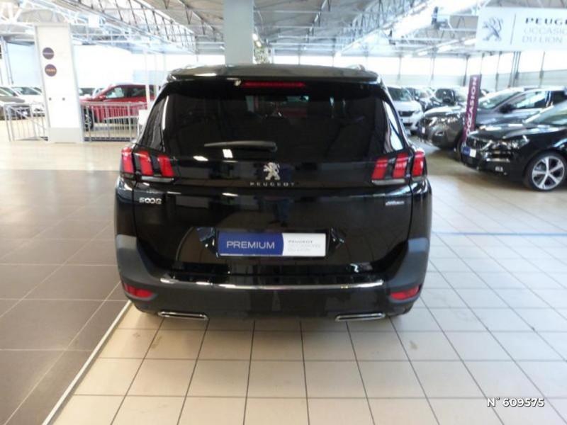 Peugeot 5008 1.5 BlueHDi 130ch S&S GT Line EAT8 Noir occasion à Meaux - photo n°6