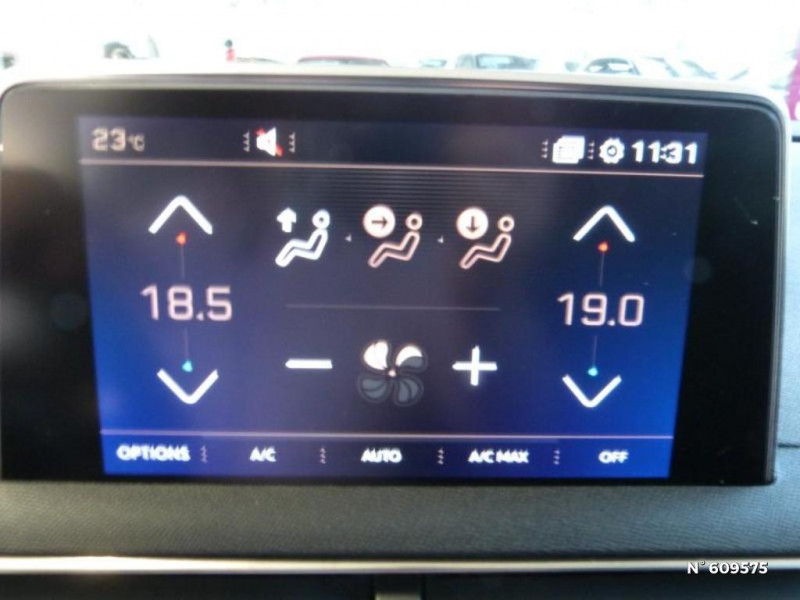 Peugeot 5008 1.5 BlueHDi 130ch S&S GT Line EAT8 Noir occasion à Meaux - photo n°19