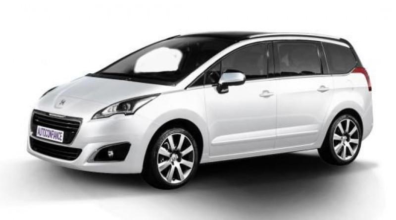 Peugeot 5008 1.6 BLUEHDI 120CH S&S ACTIVE Blanc occasion à Quimper