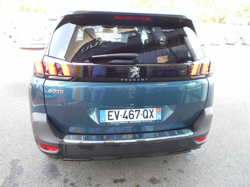 Peugeot 5008 5008 1.2 PureTech 130ch SetS BVM6 Allure Business Bleu occasion à Bessières - photo n°9